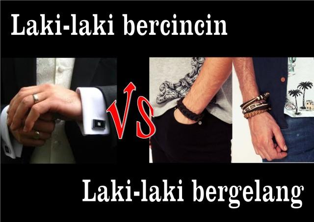 Cincin vs Gelang